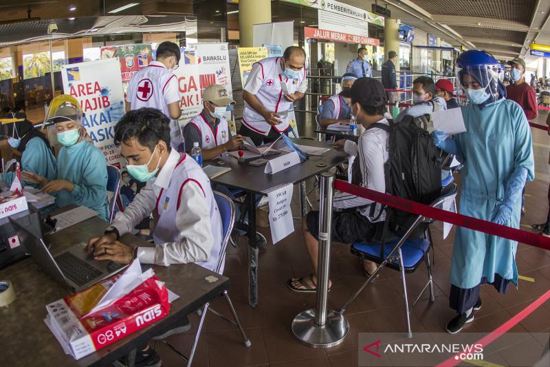 Tes cepat antigen Bandara Hang Nadim