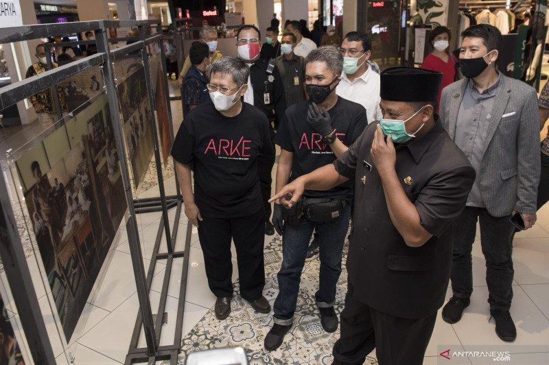 Pembukaan pameran foto Arke Kilas Balik Jabar 2019 -2020