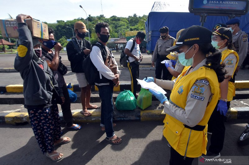 Pemeriksaan surat rapid test antigen di Bali