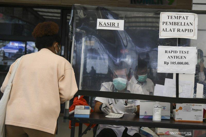 Wajib tes cepat antigen bagi penumpang KA