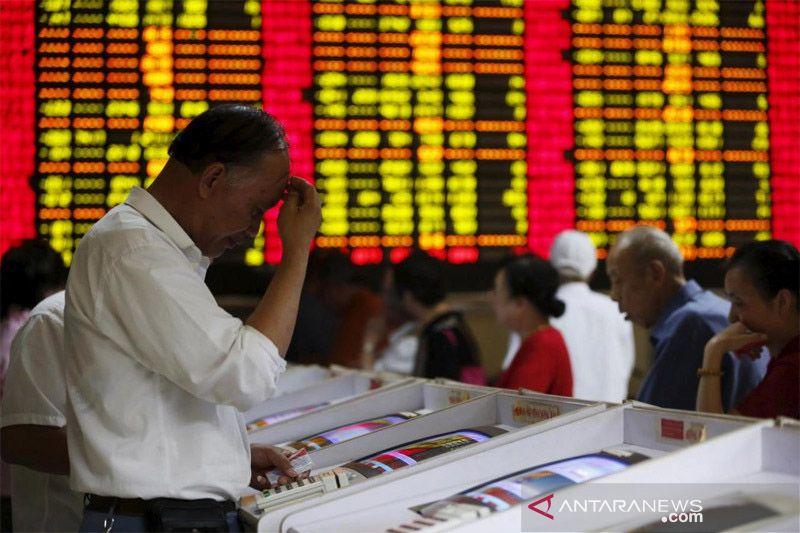 Saham China dibuka bervariasi setelah menguat akhir pekan lalu