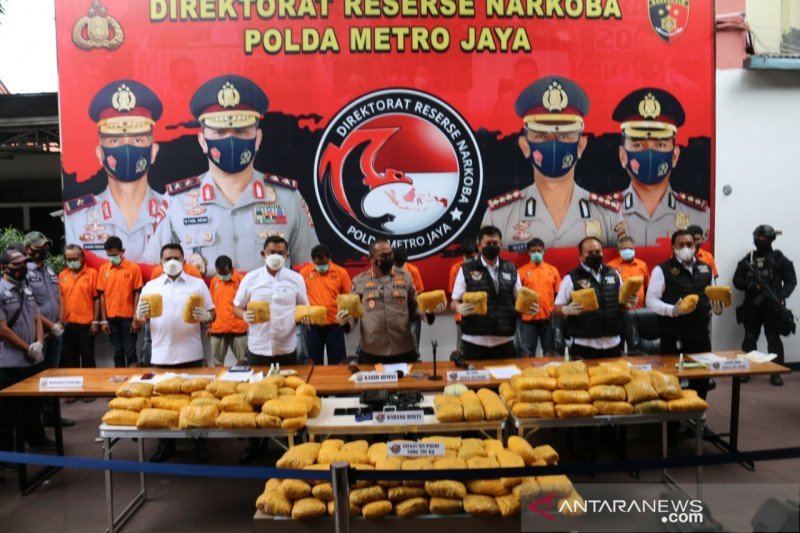 Polisi duga sabu Petamburan untuk biayai teroris Timur Tengah