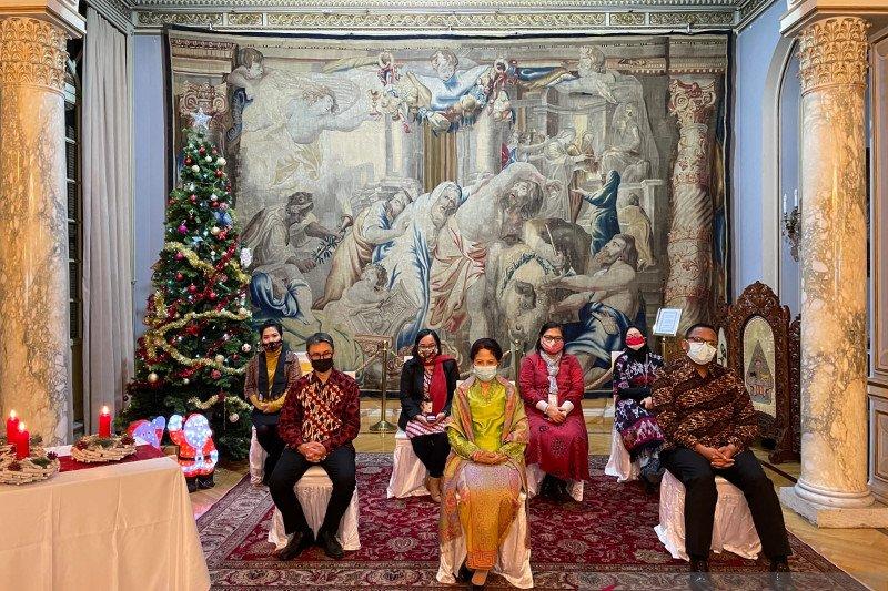 KBRI Roma gelar perayaan Natal secara hibrida  dengan tema persatuan