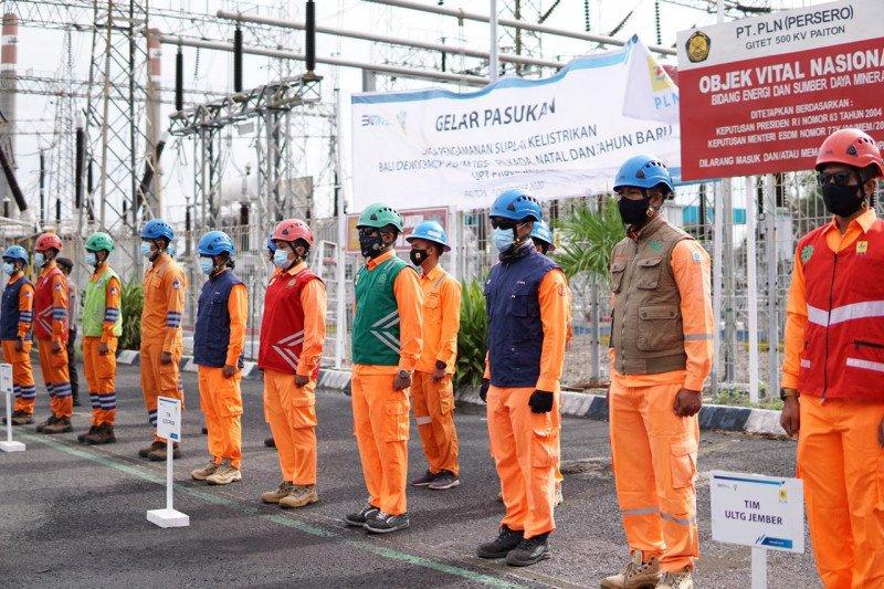 PLN Jatim terjunkan 1.388 petugas amankan listrik pada Tahun Baru 2021