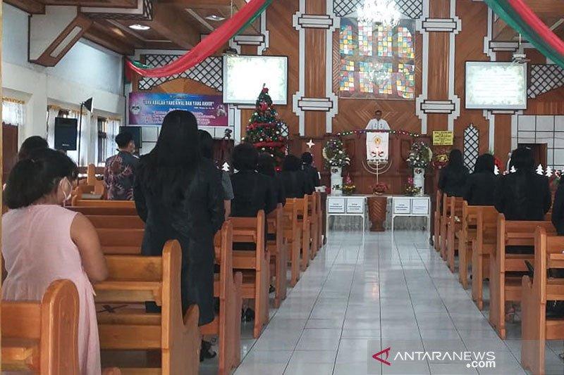 Polda: Pelaksanaan ibadah Natal di Sumbar berjalan lancar
