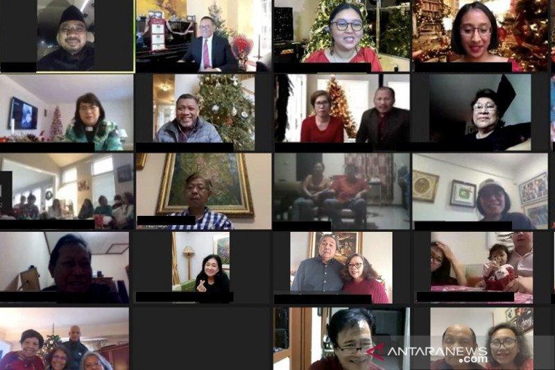 Menag tegaskan janji lawan intoleransi saat hadiri Natal WNI di AS