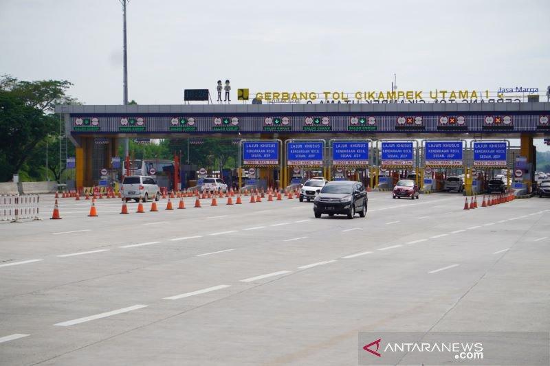Hingga Natal, Jasa Marga catat 483 ribu kendaraan keluar Jakarta