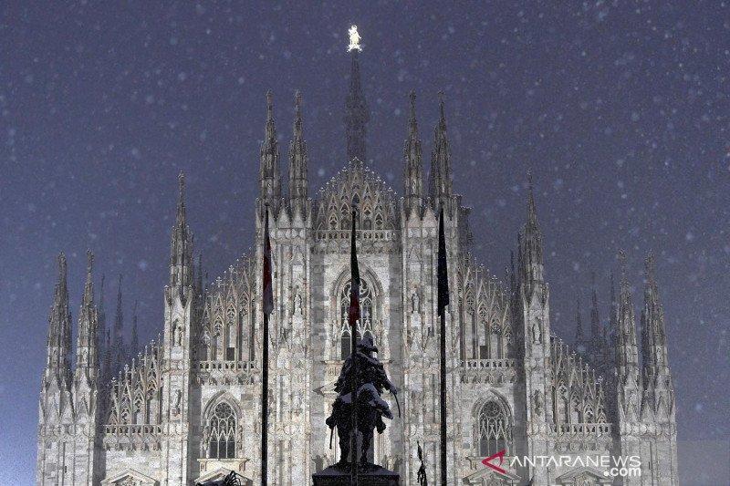 Italia berlakukan pembatasan nasional pascaliburan untuk cegah COVID