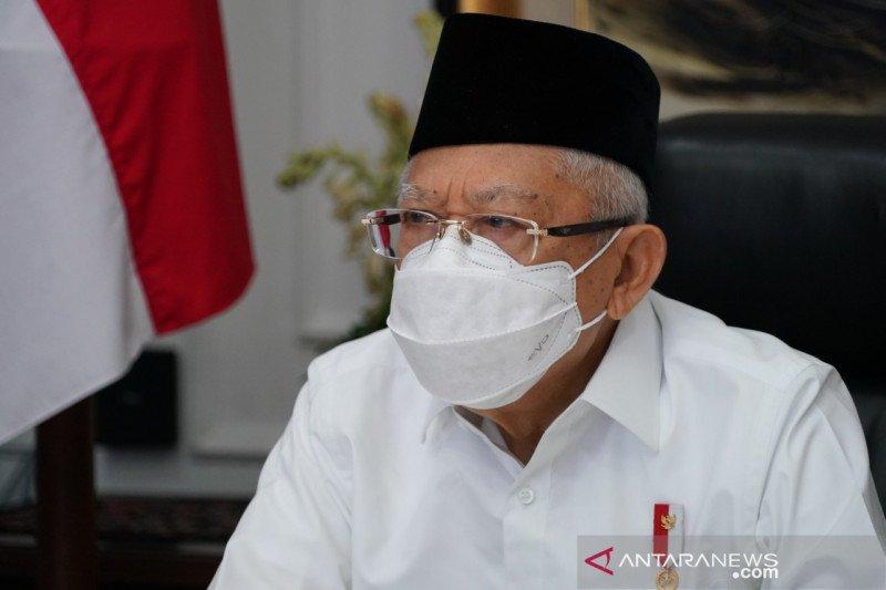 Ma'ruf Amin berpesan subsidi haji jangan terlalu besar