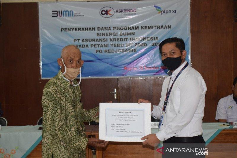 Askrindo gandeng PTPN XI untuk salurkan dana kemitraan petani tebu