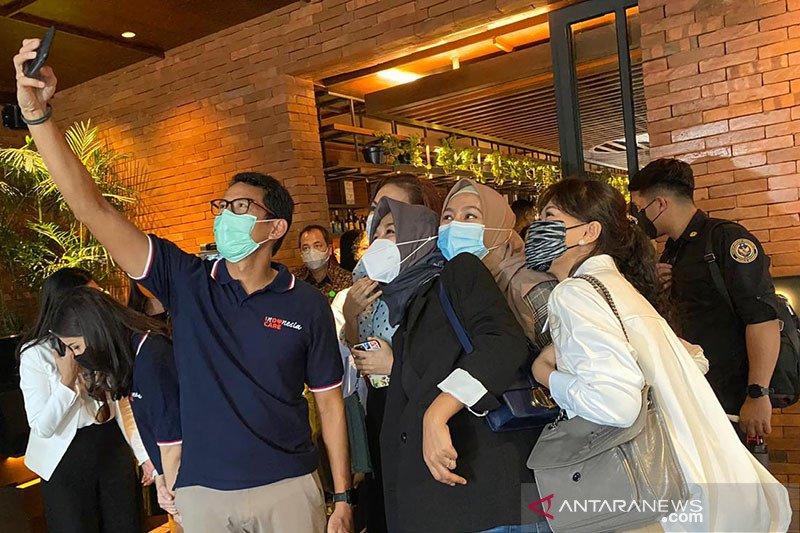 Sandiaga Uno tegaskan silang pendapat soal wisata halal sudah selesai