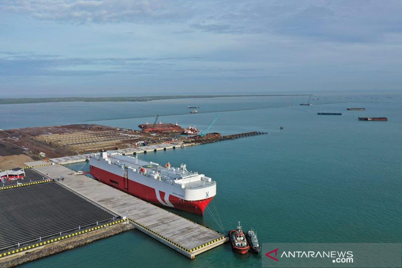 Luhut sebut sederet manfaat pembangunan Pelabuhan Patimban