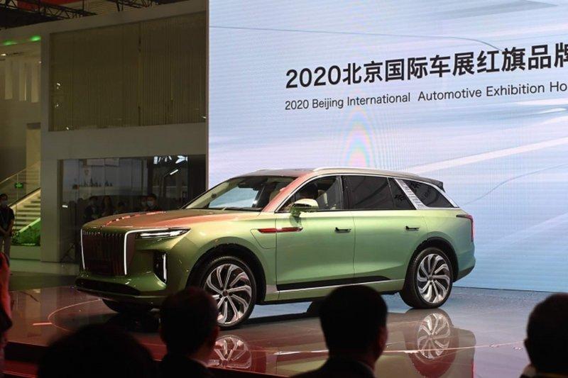 Mobil ikonis China Hongqi cetak rekor penjualan tertinggi