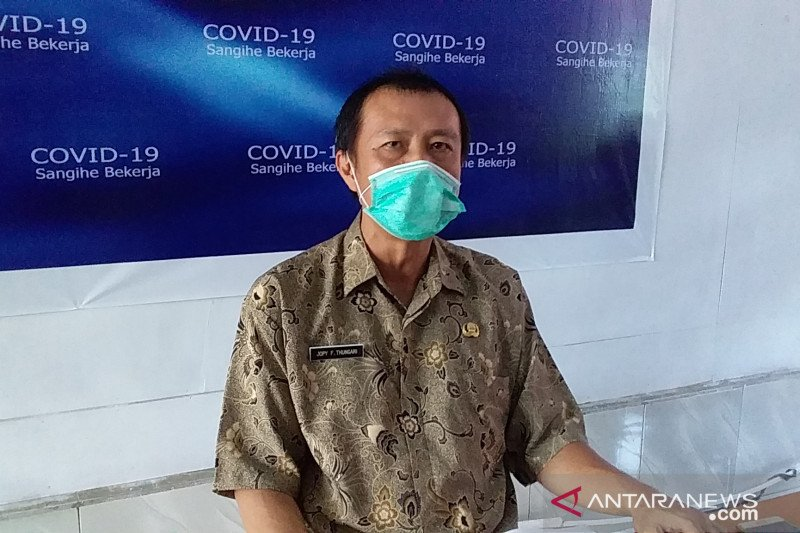Angka kesembuhan pasien COVID-19 di Sangihe mencapai 92,1 persen