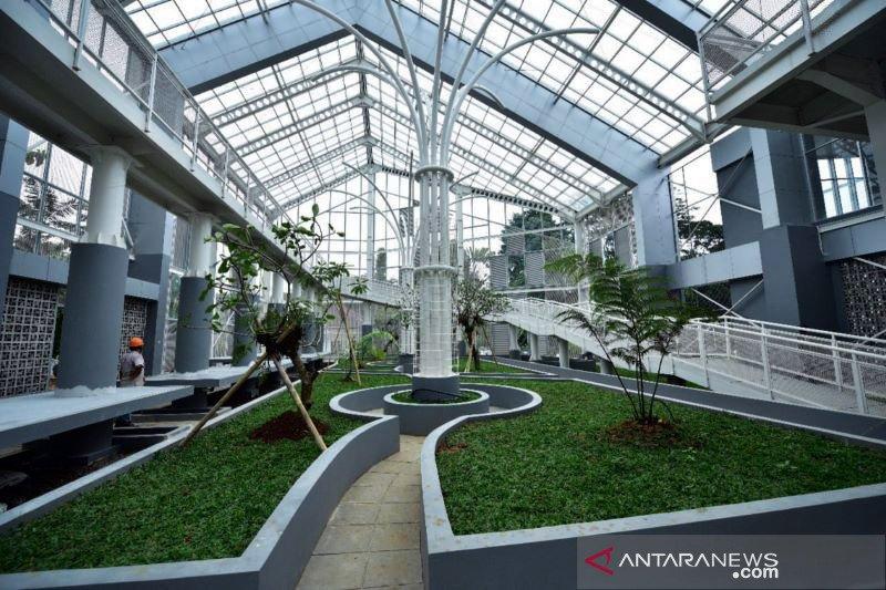 Menteri PUPR tekankan kualitas penataan Taman Anggrek Kebun Raya Bogor