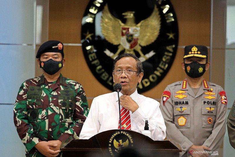 Kemarin, Pelarangan kegiatan FPI hingga Presiden damaikan politik