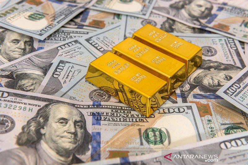 Dolar menguat setelah tiga hari jatuh karena sentimen risiko berkurang