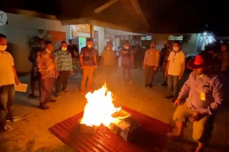 KPU Papua musnahkan 1.707 surat suara dalamPilkada Boven Digoel