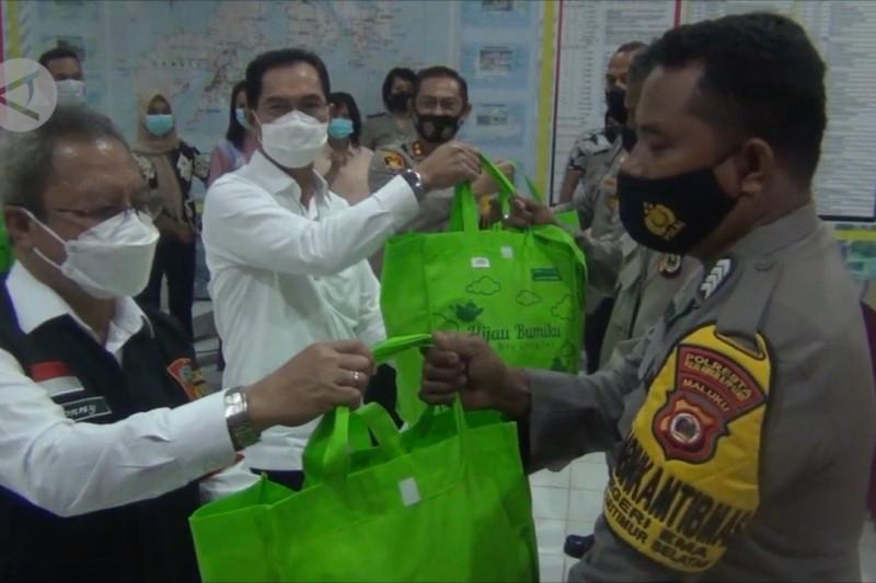 Pemkot beri bantuan kepada babinsa dan bhabinkamtibmas di kota Ambon