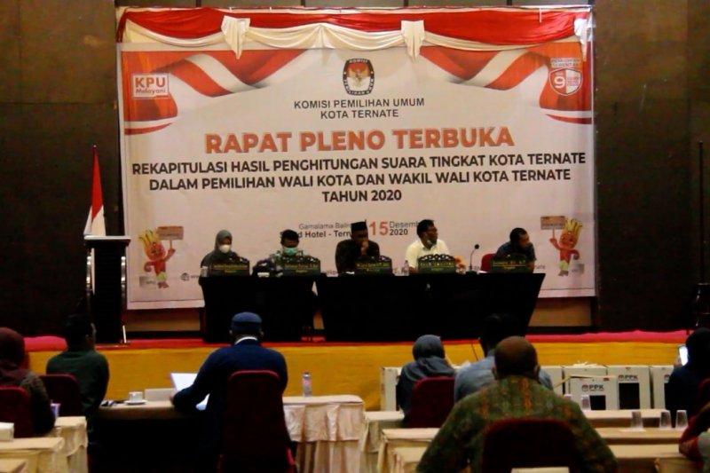 KPU tetapkan Pasangan TULUS sebagai pemenang Pilkada Kota Ternate
