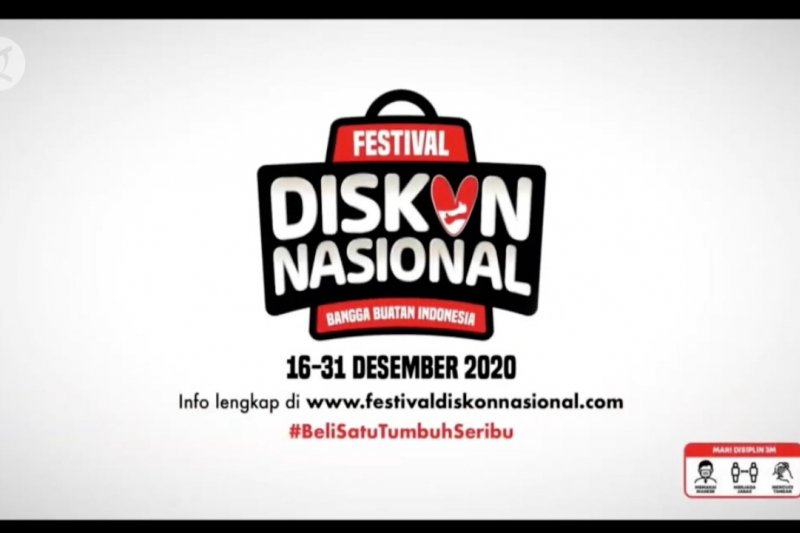 Jokowi ajak dukung produk lokal dalam festival diskon nasional