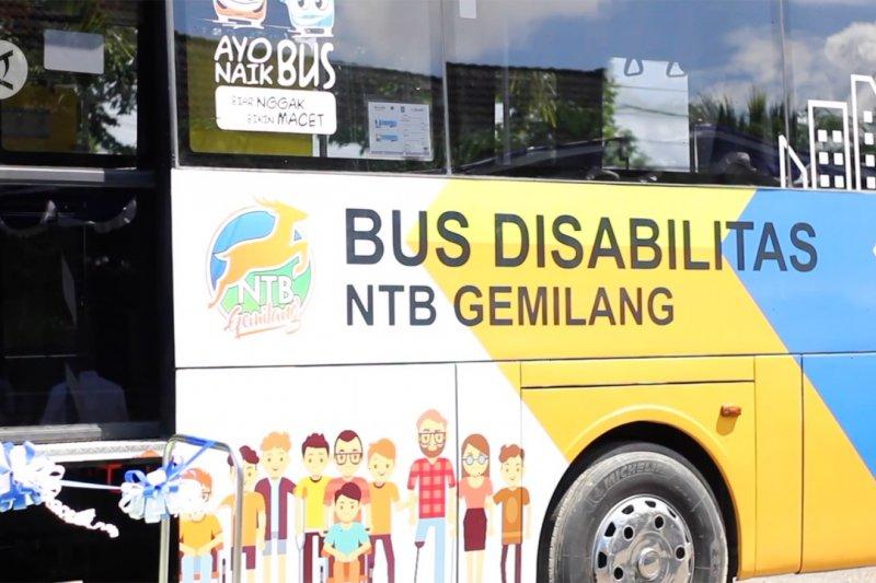NTB operasikan bus khusus bagi penyandang disabilitas