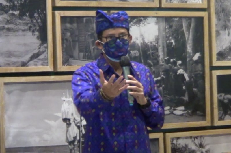 Menparekraf harap Bali jadi tolak ukur kebangkitan pariwisata di tengah pandemi