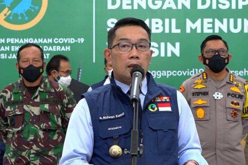 Ridwan Kamil larang perayaan tahun baru di Jawa Barat