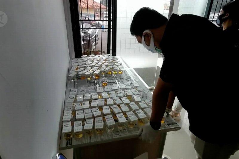 BNN Banten gelar tes urine bagi ratusan ASN Pandeglang