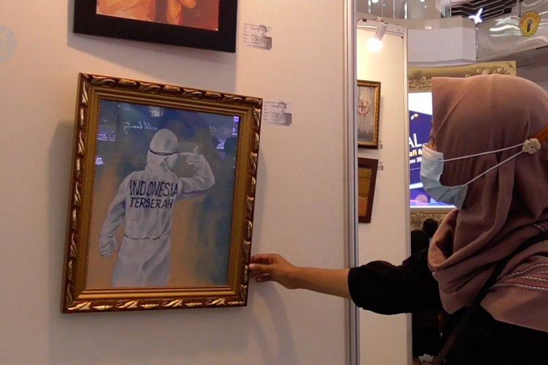 Disbudpar Batam pamerkan karya seni bertema COVID-19