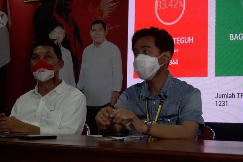 Gibran sebut partisipasi pemilih di Pilkada Solo menurun