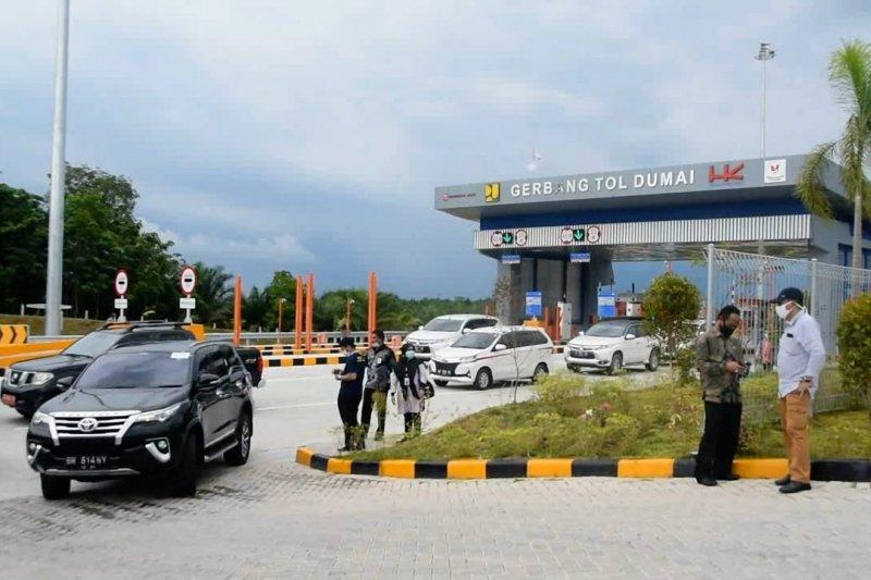 Tiga bulan beroperasi, 35 kasus kecelakaan terjadi di Tol Pekanbaru-Dumai