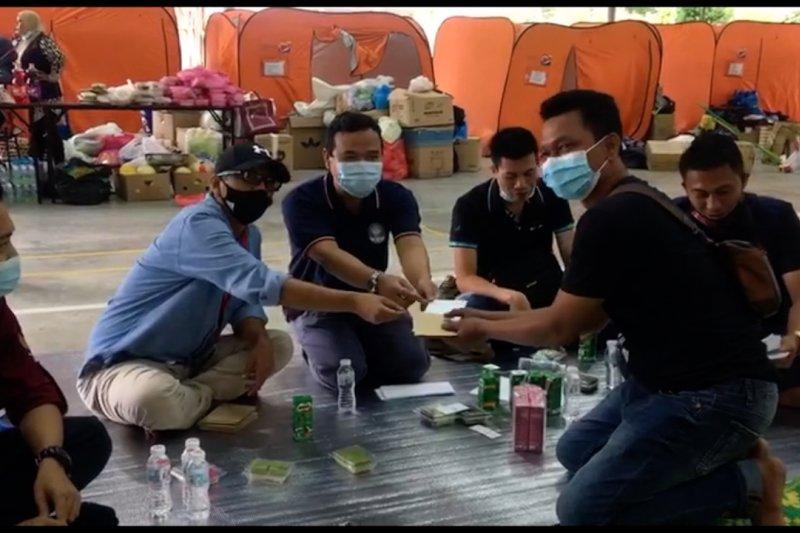 Dubes RI dan AOMI kunjungi WNI korban kebakaran di Malaysia