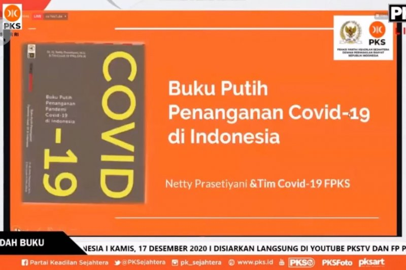 Menkes apresiasi masukan DPR terkait COVID-19 melalui hadirnya buku putih