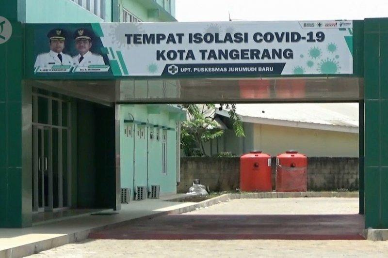 Pemkot Tangerang tambah ruang isolasi terpusat pasien COVID-19