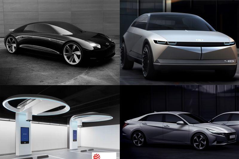 Hyundai, Genesis, dan Kia menangkan Collective 9 Good Design Awards