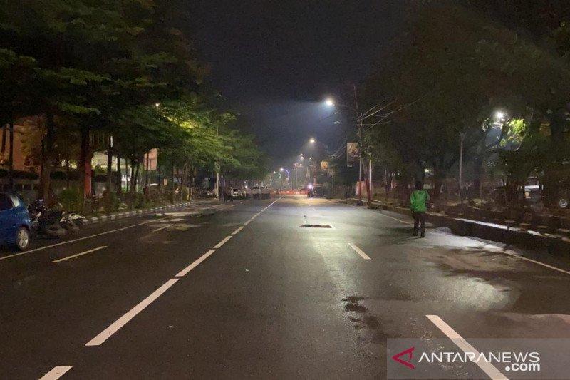 Malam pergantian tahun di Makassar sepi