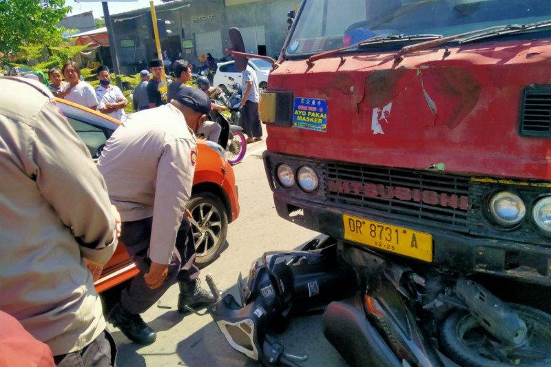 Kecelakaan maut di Batukliang Loteng, satu pelajar tewas dua masuk puskesmas