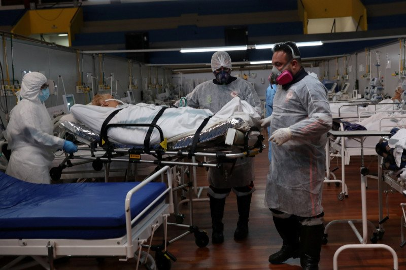 Brazil laporkan penambahan 62.290 kasus corona