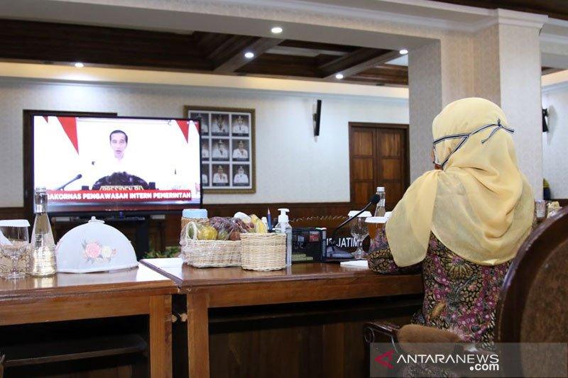 Gubernur Jatim tegaskan masih bisa koordinasikan tugas pemerintahan