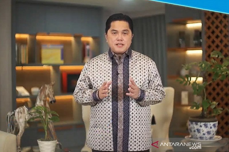Erick Thohir angkat bicara soal rencana ibu kota negara