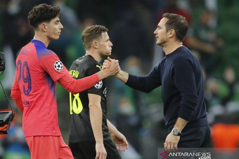 Frank Lampard akui kondisi fisik Kai Havertz tidak bagus
