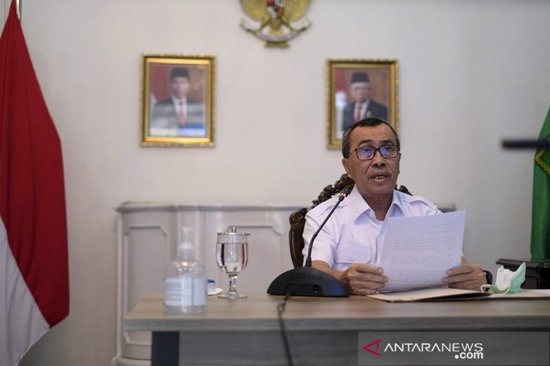 Gubernur Riau mulai aktif bertugas setelah negatif COVID-19
