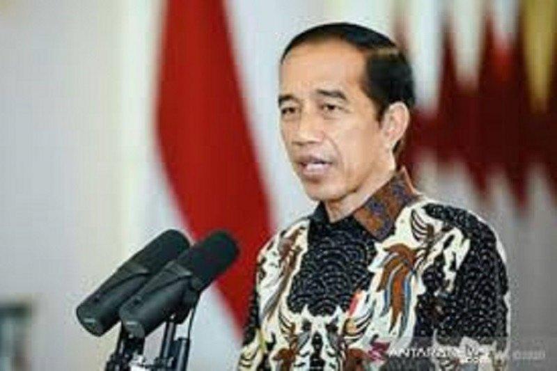 Presiden Jokowi hadiri peringatan HUT Ke-48 PDIP