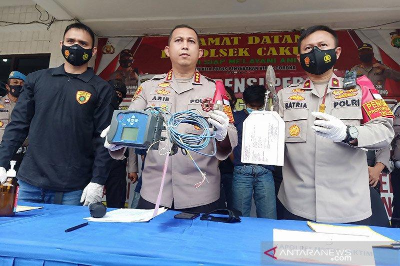 Polisi ungkap kebocoran gas PGN akibat aksi pencurian alat ukur volume