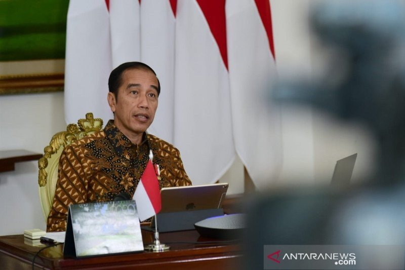 Di depan kader PDIP Jokowi sampaikan duka cita musibah Sriwijaya