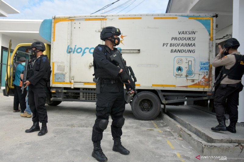 22.000 dosis vaksin COVID-19 untuk Riau tiba di Pekanbaru