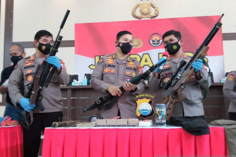 Densus 88: Terduga teroris Makassar sudah rencanakan bom bunuh diri