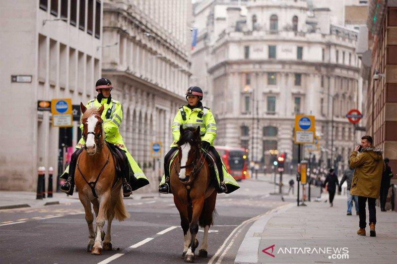 London pasca lockdown