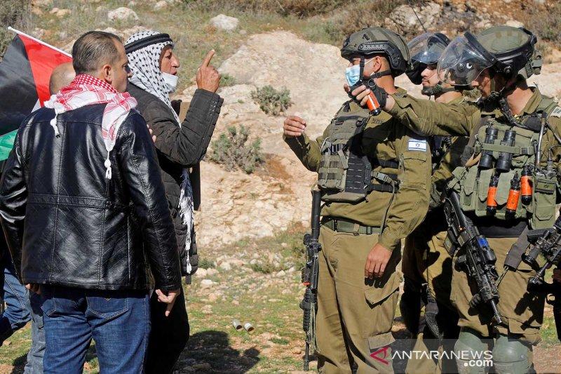 Bentrokan di Tepi Barat dengan Israel, Palestina sebut 2 petugas tewas